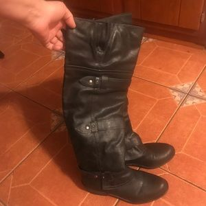 Great pair of over the knee boots. Like new 11